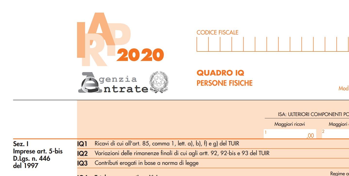 irap 2020 modello mentefinanziaria
