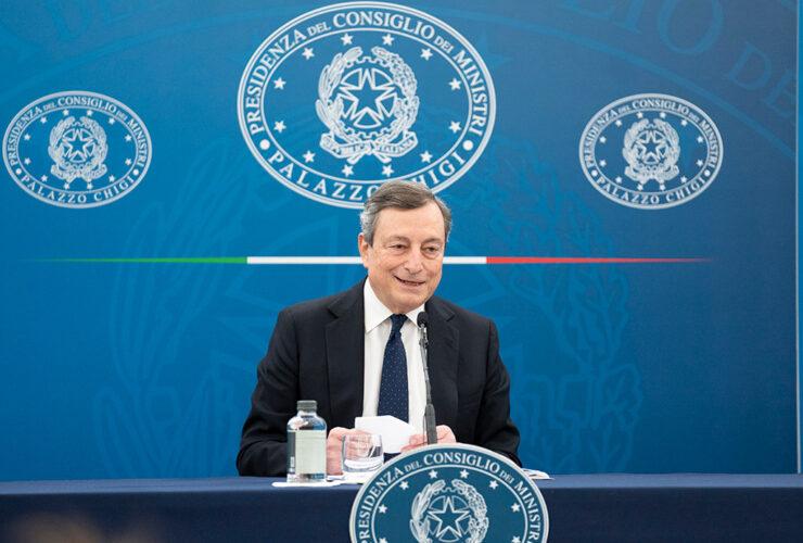 """Mario Draghi sul Patto di Stabilità: """"Non è il momento di pensare al debito"""""""